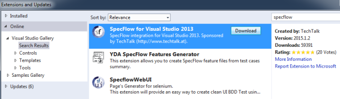 specflow-extension
