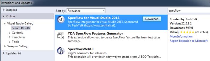 specflow-extension