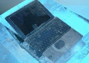 frozen-computer